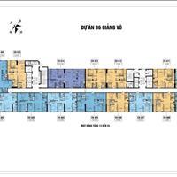 Căn hộ cạnh hồ Giảng Võ 50m, nội thất cao cấp giá chủ đầu tư từ 42 triệu/m2