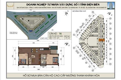 Chính chủ cần bán căn hộ view sông Mường Thanh số 4 giá thấp nhất thị trường