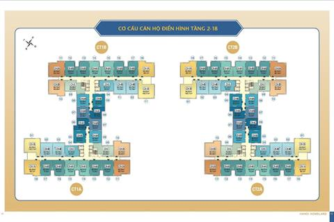 Căn hộ Hà Nội Homeland giá đợt 1 siêu rẻ, chỉ từ 1.1 tỷ/căn, hỗ trợ vay tới 70% giá trị căn hộ