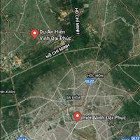 Đất đường 824 vào 800m, Đức Hòa, sổ hồng riêng, xây dựng ngay, gần khu công nghiệp