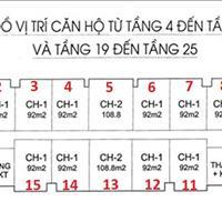 Tôi bán căn 03, IA20 Ciputra, 18,5 triệu/m2, diện tích 108m2