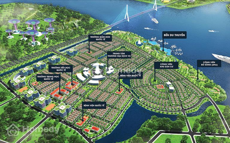 King Bay - Ba mặt view sông lớn Đồng Nai - Mặt tiền vành đai 3 - Lợi nhuận 10%/năm