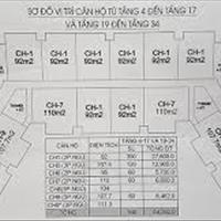 Bán căn 92 m2, tầng 12, IA20 Ciputra, 18,5 triệu/m2, 92 m2