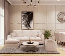 Căn hộ chung cư HDMon 2 phòng ngủ phong cách hiện đại