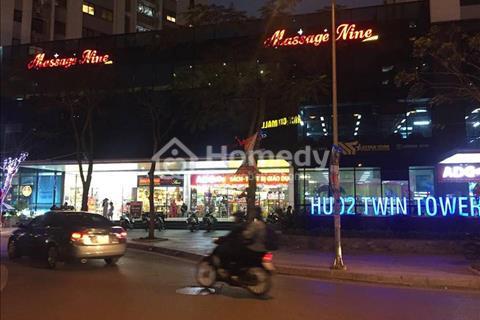Bán mặt bằng trung tâm thương mại tòa HUD2 Tower B1 - B2 Tây Nam Linh Đàm