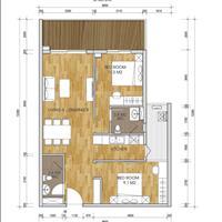 Chung cư The Two Residence, Gamuda 2 ngủ, 1 phòng đa năng, chiết khấu 3%, tặng nội thất 60 triệu