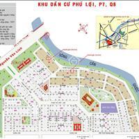 Bán đất giá đầu tư tại khu dân cư Phú Lợi, Quận 8, chỉ 23 triệu/m2