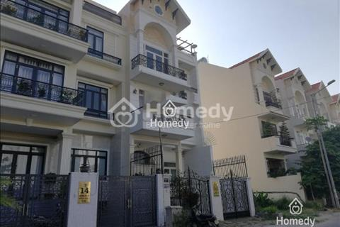 Cho thuê biệt thự 7.5x20m hướng Tây Bắc, Him Lam Quận 7, nhà mới đẹp, giá 60 triệu/tháng