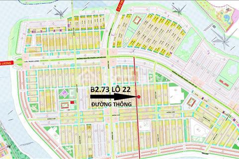 Nam Hòa Xuân bán nhanh lô đất B2.73 lô 22 siêu đẹp của gia đình