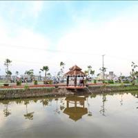 Đất nền dự án khu dân cư Xuyên Á - Quốc lộ 22, view hồ, 7m x 16m, sổ hồng riêng, đường nhựa 14 m
