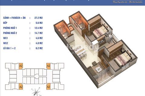 Chính chủ bán gấp căn góc diện tích 75,5m2 giá 29 triệu/m2 tại chung cư Golden West