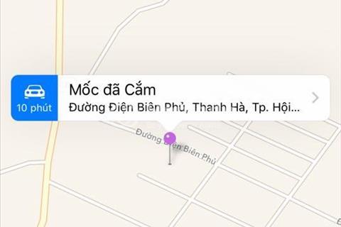 Cần bán lô đất mặt tiền ở Hội An - đường Điện Biên Phủ, phường Thanh Hà, thành phố Hội An