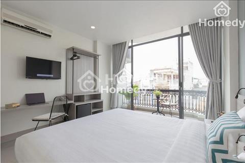 Cho thuê khách sạn mặt tiền Đề Thám 9 phòng, gần Bùi Viện