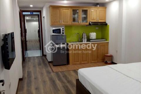 Cho thuê căn hộ dịch vụ đầy đủ nội thất điều hòa, giường tủ phố Yên Hòa Cầu Giấy giá 6,5 triệu