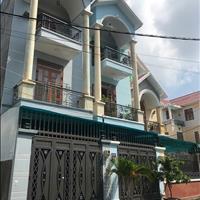 Nhà sổ hồng riêng, mặt tiền đường 10m, 1 trệt 2 lầu, dân cư an ninh