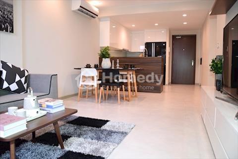 Cho thuê căn hộ Icon 56, 51m2 với 1 phòng ngủ, full nội thất, lầu cao thoáng giá tốt 17 triệu/tháng