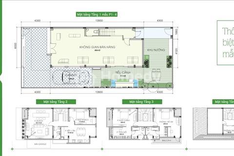 Cần bán cănbiệt thựAn Phú Shop Villa thuộc khu đô thị Dương Nội, mặt đường 27m