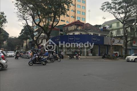 Cho thuê nhà mặt tiền 25m mặt phố Trung Hòa căn góc ngã tư đường 165m2, 5 tầng