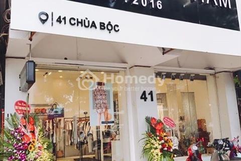 Cho thuê nhà mặt tiền 5m mặt phố chùa Bộc 60m2, 4 tầng