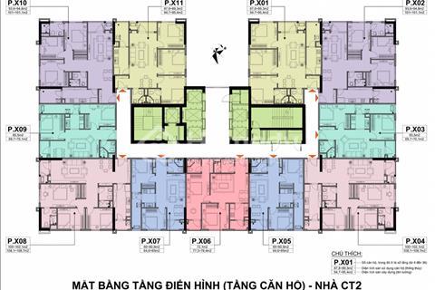 Bán căn hộ CT2 chung cư A10 Nam Trung Yên – Cầu Giấy