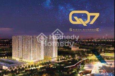 Căn hộ Q7 Saigon Riverside Complex giá từ 25 triệu/m2, nội thất cao cấp