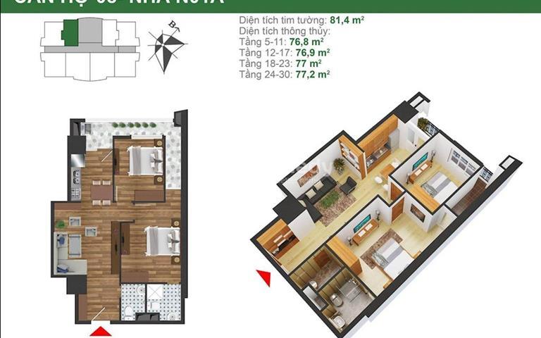 Căn hộ chung cư K35 Tân Mai, Hoàng Mai, Hà Nội