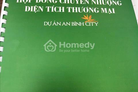 Xuất ngoại giao duy nhất căn Shophouse A4-06 An Bình City giá tốt nhất thị trường 50 triệu/m2