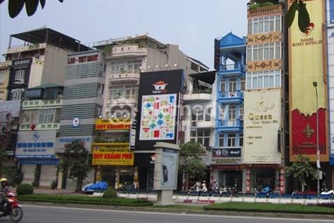 Bán nhà mặt phố Huỳnh Thúc Kháng, Hà Đông, đường rộng
