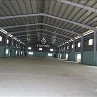 Thuê kho chứa hàng trống suốt mặt tiền đường Kinh Dương Vương, Bình Tân