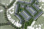 Dự án được quy hoạch trên diện tích 26.747 m2 với 142 căn nhà phố và 4 căn biệt thự.