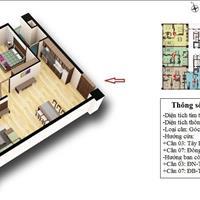 Bán căn 1007, diện tích 92,55m2 chung cư CT2 Tây Nam Linh Đàm