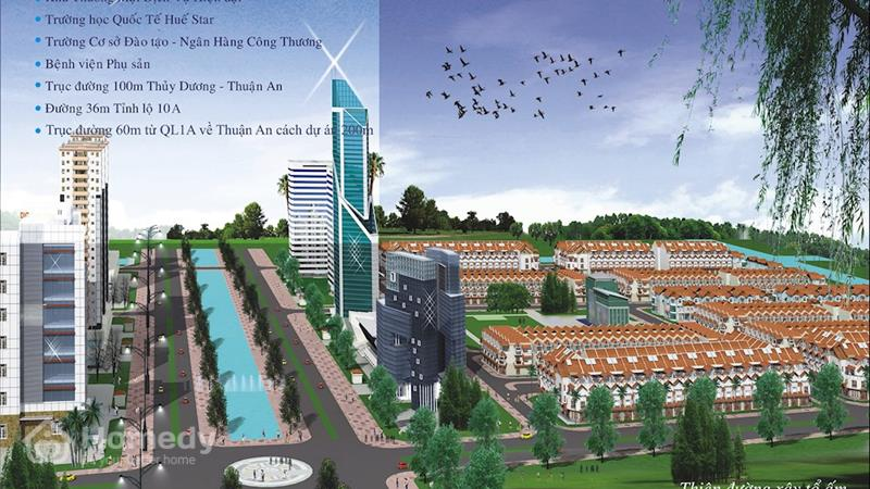 Dự án Khu đô thị Mỹ Thượng Thừa Thiên Huế - ảnh giới thiệu