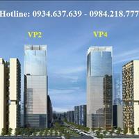Bán gấp căn 107.59m2 chung cư cao cấp VP2 bán đảo Linh Đàm