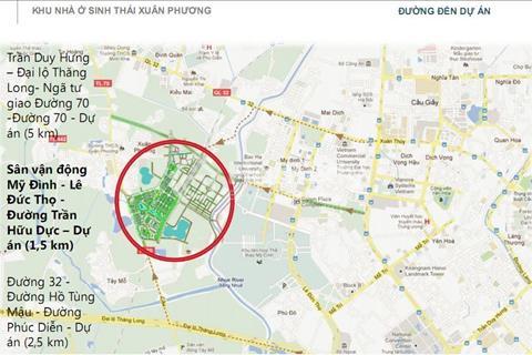 Bán liền kề đã hoàn thiện 82,5m2 dự án Xuân Phương Tasco 6,4 tỷ