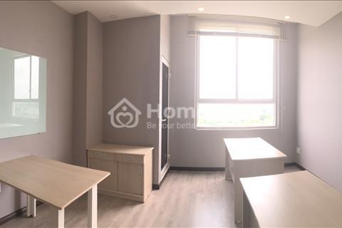 Cho thuê Officetel The Tresor, 51m2, giá 13,5 triệu/tháng, rèm, máy lạnh, 1 phòng riêng