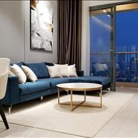 Cho thuê Officetel The Gold View, 73m2, ban công, rèm, máy lạnh, 2 phòng ngủ, 14 triệu/tháng