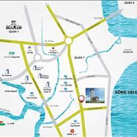 Nhận nhà ở liền, mặt tiền Huỳnh Tấn Phát view sông, 3 phòng ngủ, 2 WC, giá 2 tỷ, có VAT