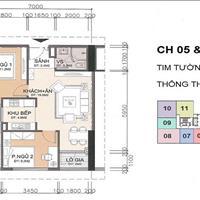 Chính chủ bán gấp căn hộ 2307 toà CT2 dự án chung cư A10 Nam Trung Yên