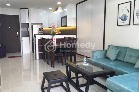 Cho thuê căn hộ 2 phòng ngủ Tresor, Bến Vân Đồn, nội thất cao cấp, giá 23 triệu/tháng