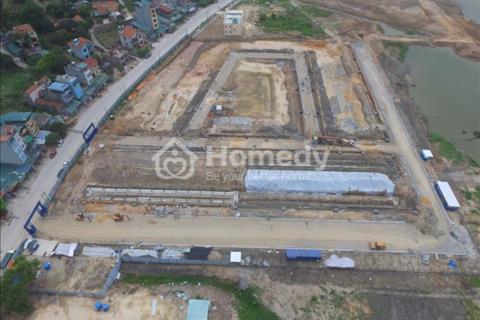 Dự án Dragon Hill City Hạ Long hoàn thiện móng 147 căn nhà liền kề