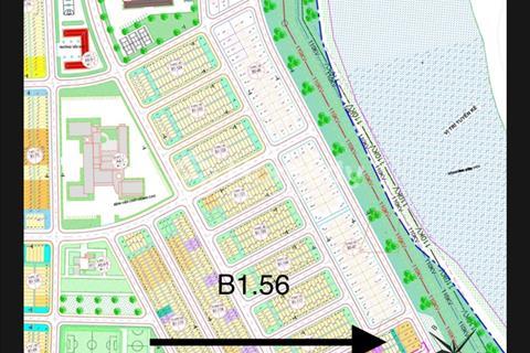 B1.56 đối diện dãy biệt thự - sát sông - gần bến du thuyền, Hòa Xuân