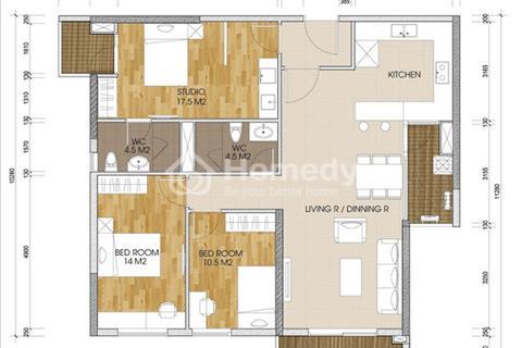 Cắt lỗ, sang nhượng chung cư The Two Residence số lượng lớn, nhiều loại diện tích, giá cả phù hợp