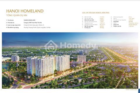Chỉ với 1 tỷ/căn tại dự án Hà Nội Homeland cách đường Nguyễn Văn Cừ 100m