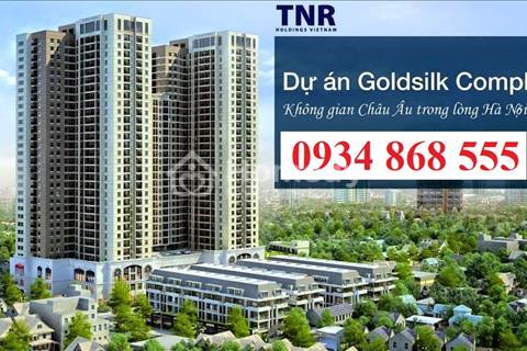Mở bán đợt cuối 10 căn hộ GoldSilk Complex, Vạn Phúc Hà Đông, chỉ 500 triệu nhận nhà ở ngay căn 3PN