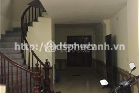Cho thuê nhà liền kề chung cư Viện Bỏng 76m2 x 4.5 tầng