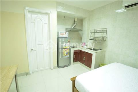 Cho thuê căn hộ Studio 25m2, full nội thất, có cửa sổ giá 7 triệu/tháng