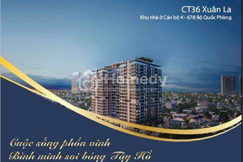 Khu nhà ở Sỹ quan - chung cư CT36 Xuân La - Tây Hồ - Hà Nội