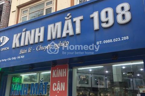 Cho thuê nhà phố Hoàng Quốc Việt – Cầu Giấy 48m2, mặt tiền 6m, giá 80 triệu
