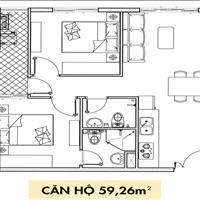 Chủ nhà kẹt tiền cần bán căn hộ Topaz Elite, giá 1,619 tỷ, 60m2, 2 phòng ngủ