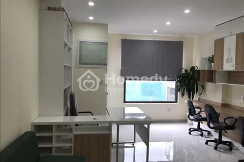 Cho thuê Officetel The Gold View, 73m2, ban công, rèm, máy lạnh, 2 phòng ngủ, giá 14 triệu/tháng